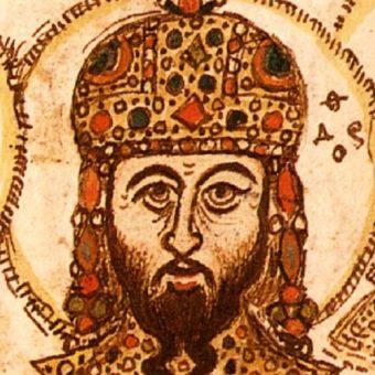 Wizerunek Teodora na miniaturze.