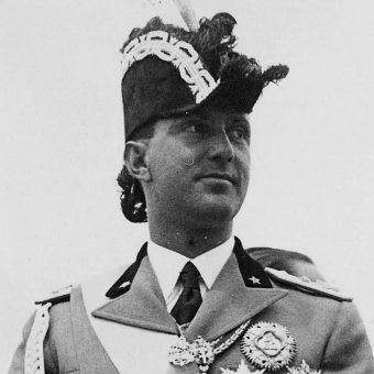 """Król Majowy"" Humbert II."