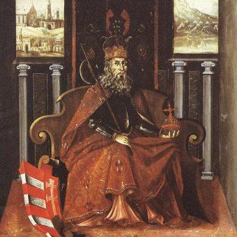 Portret Władysława I Świętego.
