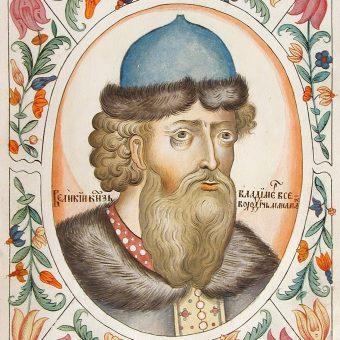 Wizerunek Włodzimierza II Monomacha.