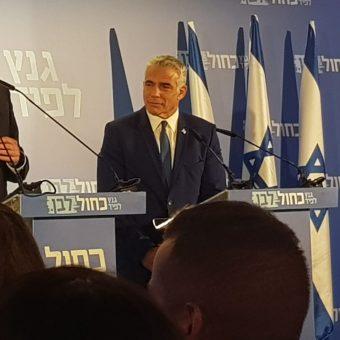Yair Lapid (fot. Amirosan, lic. CC BY-SA 4.0)