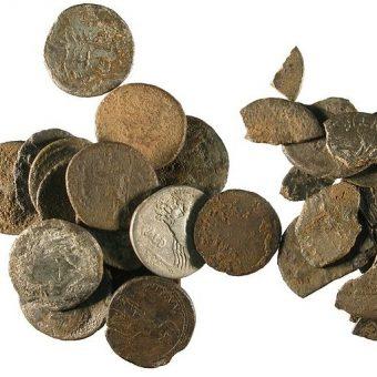 Nawet 1/4 denarów znalezionych na obszarze dzisiejszej Polski mogła być fałszywkami – szacują warszawscy archeolodzy (zdj. poglądowe).