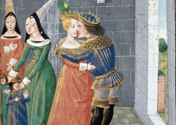 Według średniowiecznych teologów miłość wyrażała się poprzez fizyczną rozkosz i akty cielesne.