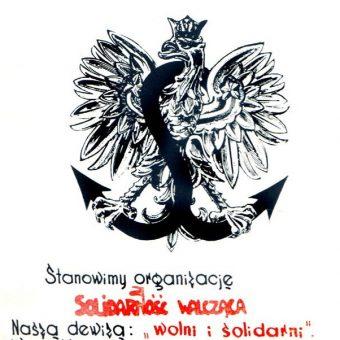 Deklaracja Solidarności Walczącej z 1982 roku.
