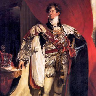 Portret króla Jerzego IV.