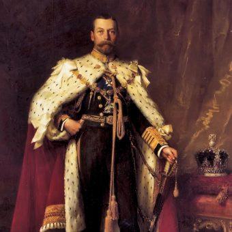 Portret króla Jerzego V.