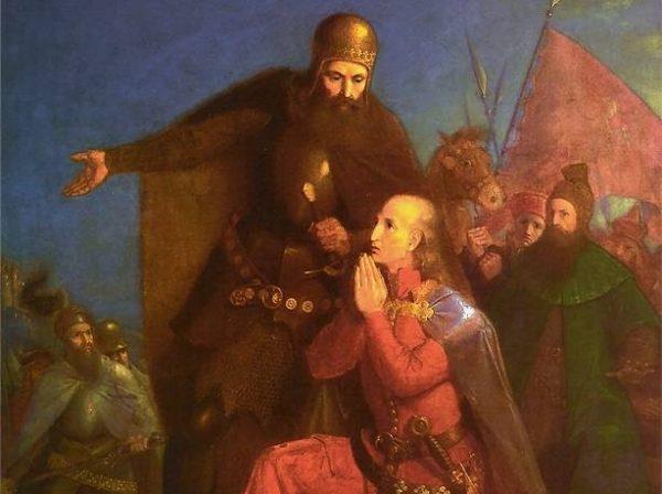 Może Jagiełło nie zareagował, bo miał... ważniejsze sprawy na głowie? Toczyła się właśnie wojna z zakonem krzyżackim.