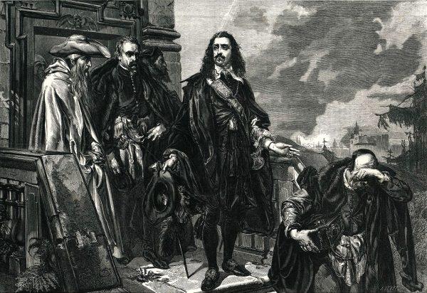 Skrzetuski dotarł w końcu przed oblicze Jana Kazimierza.