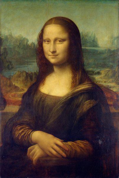 Leonardo nie kończył wielu prac, które zaczął. Taki los spotkał m.in. Mona Lisę.