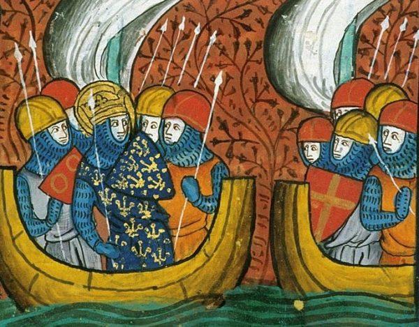Ostatnia krucjata zorganizowana przez Ludwika IX zakończyła się tragicznie. Zginęła 1/6 jego armii - nie w walce, lecz z powodu epidemii.