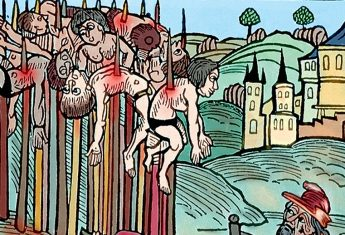Ulubioną metodą egzekucji Włada Drakuli było nabijanie na pal.