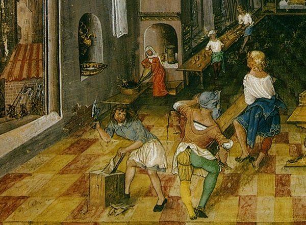 Średniowieczne kobiety często wykonywały te same zawody, co ich mężowie.