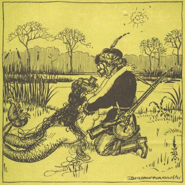 """""""Wiosna 1917 nad Świtezią"""" jest nawiązaniem do ballady Adama Mickiewicza."""