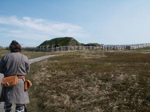 Osada wikingów w L'Anse-aux-Meadows.