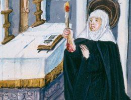 Wstąpienie do stanu duchownego było dla średniowiecznych kobiet w zasadzie jedyną sensowną alternatywą dla małżeństwa.