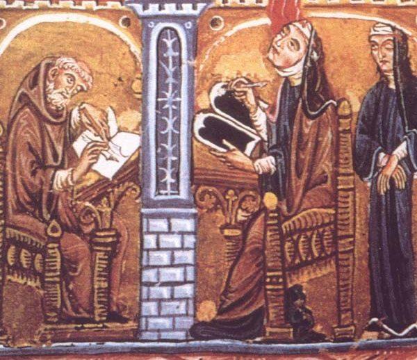 Jedną z najsłynniejszych średniowiecznych mniszek była Hildegarda z Bingen.