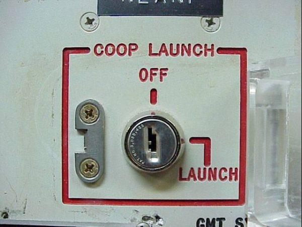 Stacyjka do odpalenia broni jądrowej Minuteman ICBM.