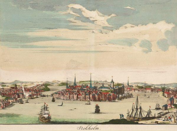 Łaski i jego ludzie trafili do Sztokholmu po tym, jak burza niemal rozbiła flotę króla Zygmunta III.