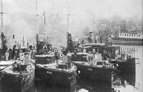 Monitory Flotylli Rzecznej Marynarki Wojennej (do 17 października 1931 Flotylli Pińskiej).
