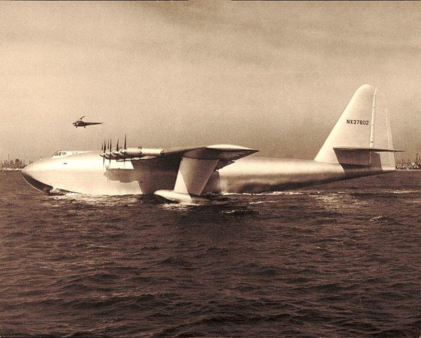 Widok H-4 Herculesa w całej okazałości zapierał dech w piersiach.