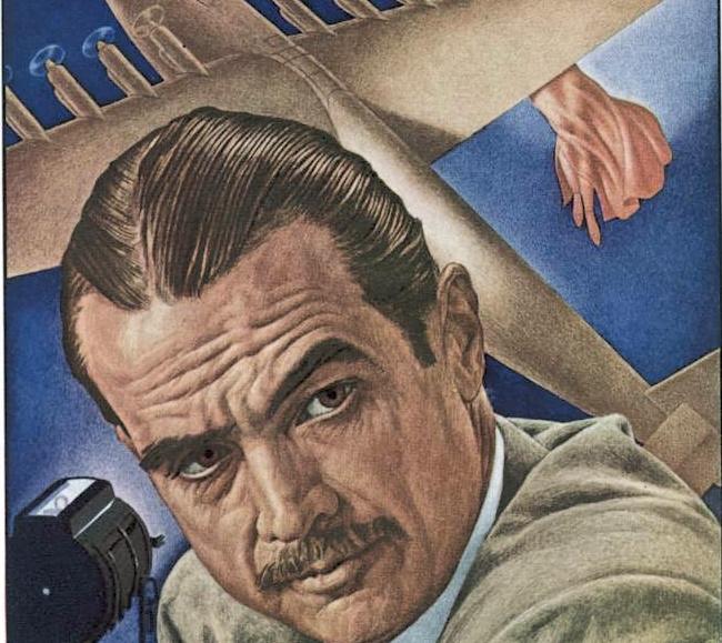 """Howard Hughes na okładce magazynu """"Time""""."""