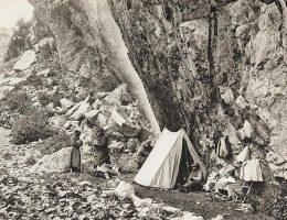 Obóz Brytyjczyków w Kaukazie.