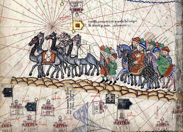 Podróż Marco Polo karawaną przez Azję