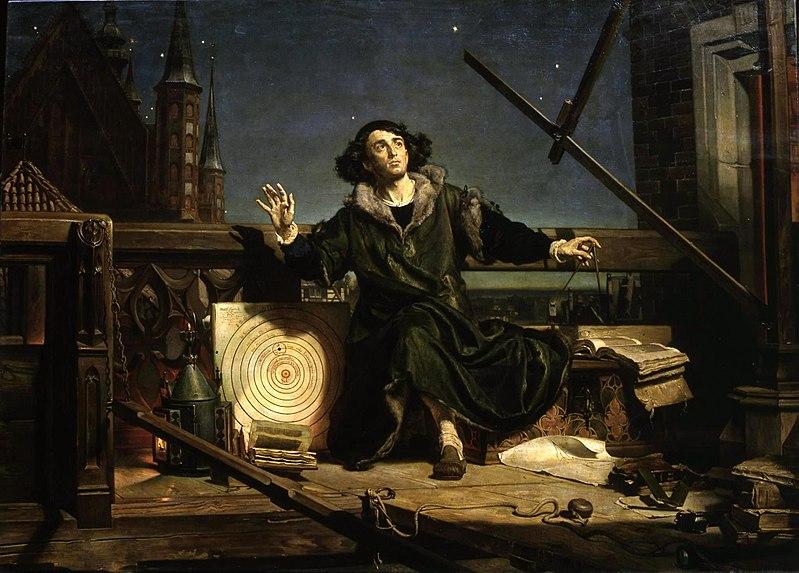 Kopernik w swoich wyliczeniach opierał się o południk krakowski.