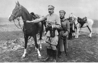 Piłsudski z Kasztanką