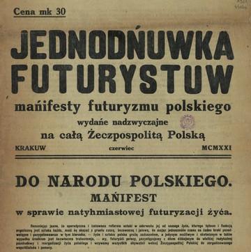 """Bruno Jasieński podjął się """"ambitnego"""" zadania zreformowania polszczyzny"""