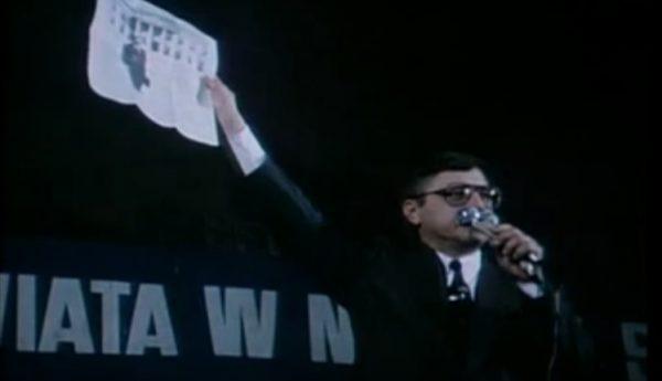 Wiec wyborczy Stanisława Tymińskiego przed II turą wyborów