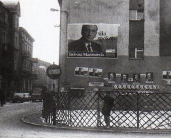 Kampania Mazowieckiego ruszyła z opóźnieniem i nie trafiła do serc Polaków.