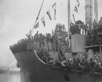 Zapewnienie transportu do domu milionom amerykańskich żołnierzy po II wojnie światowej było nie lada wyzwaniem