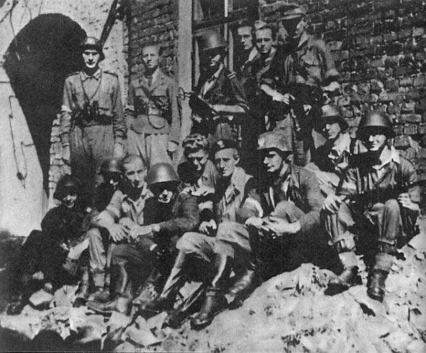 Żołnierze Batalionu Golski