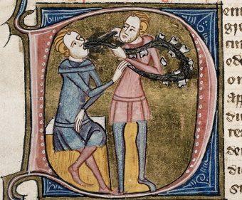 W średniowieczu wizyta u dentysty nie zawsze kończyła się dobrze