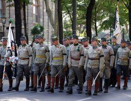 Rekonstruktorzy armii austro-węgierskiej
