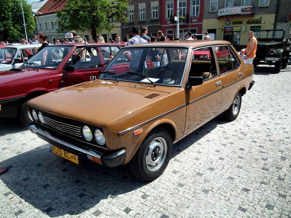 FIAT 131S 1600 Mirafiori z 1976 roku