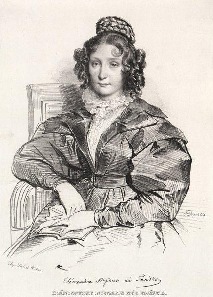 Klementyna Hoffmanowa z domu Tańska