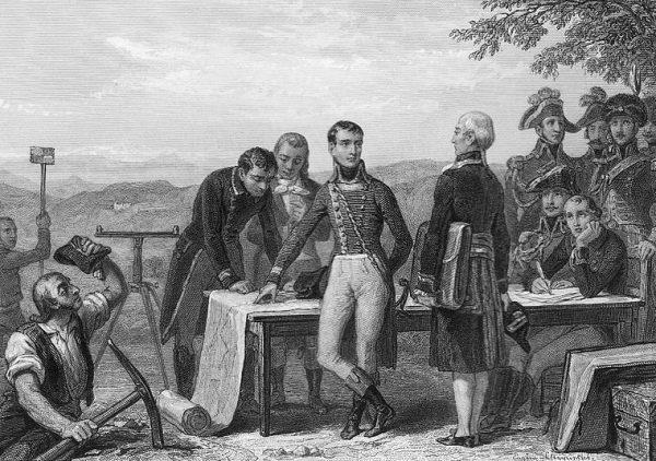 Napoleon miał bardzo ambitne plany względem Anglii