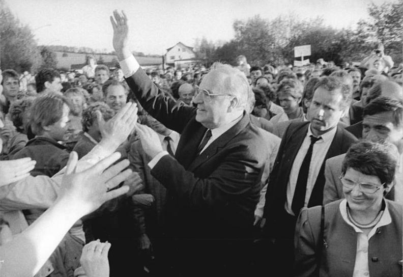 Helmut Kohl był twarzą zjednoczenia Niemiec