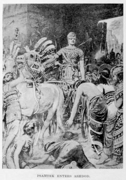 Karyjczycy służyli w wojsku faraonów dynastii z Sais jako żołnierze najemni począwszy od czasów Psametyka