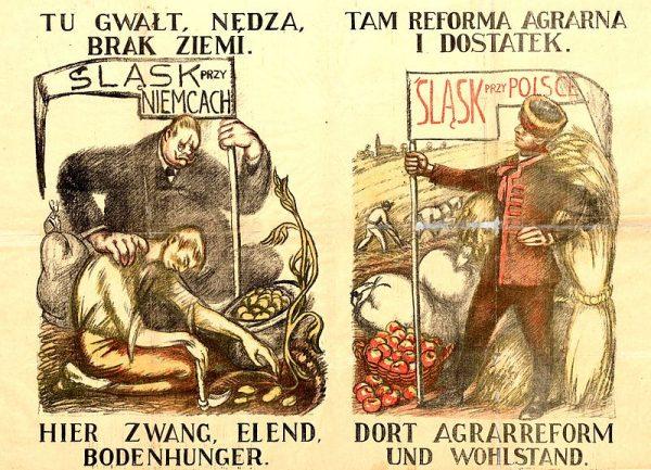 Śląska prasa rozpisywała się o zbliżającym się wielkimi krokami plebiscycie