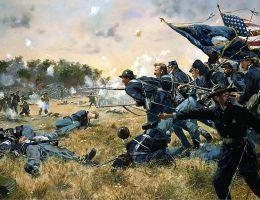Bitwa pod Gettysburgiem jest dziś określana mianem punktu zwrotnego w wojnie secesyjnej.