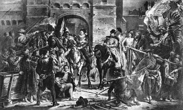 Jako że skarb państwa świecił pustkami, kanclerz Zamojski musiał opłacać armię z własnych funduszy.