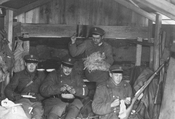 W 1919 roku sztabowcy wychodzili z założenia, że wszystko, czego żołnierz potrzebuje, otrzyma od intendentury.