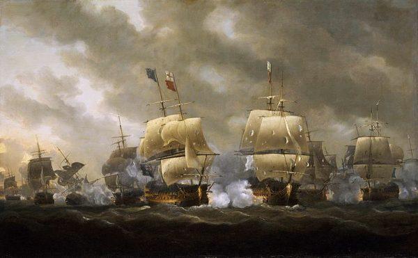 Napoleon faktycznie planował inwazję na Wielką Brytanię, lecz powstrzymała go porażka w zatoce Quiberon.