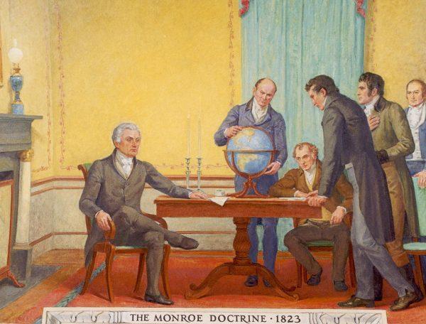 Niemieckie dążenia do zdobycia swego miejsca pod słońcem musiały zmierzyć się z parasolem ochronnym amerykańskiej polityki zagranicznej wyznaczonej w 1823 roku przez doktrynę Monroego