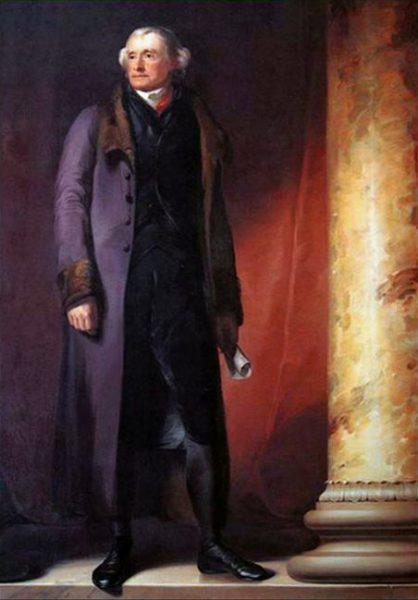 Thomas Jefferson z jednej strony był przeciwnikiem niewolnictwa, z drugiej zaś – właścicielem paruset zniewolonych ludzi, którzy pracowali na jego utrzymanie.