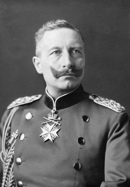 Wizja płonącego Manhattanu i w konsekwencji amerykańskiego prezydenta z białą flagą zdawała się nie opuszczać Wilhelma II.