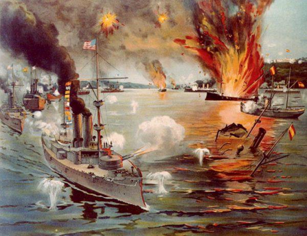 Wybuch wojny hiszpańsko-amerykańskiej w kwietniu 1898 roku spowodował wzrost aktywności Stanów Zjednoczonych na Karaibach